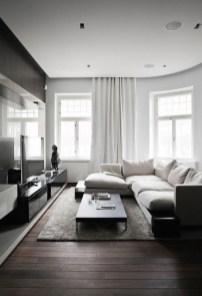Elegant Scandinavian Living Room Design Ideas 48