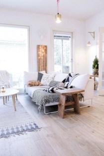 Elegant Scandinavian Living Room Design Ideas 57