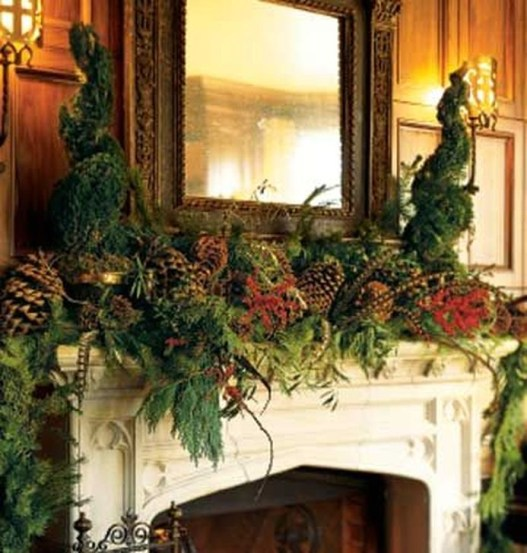 Favorite Mantel Decoration Ideas For Winter 07