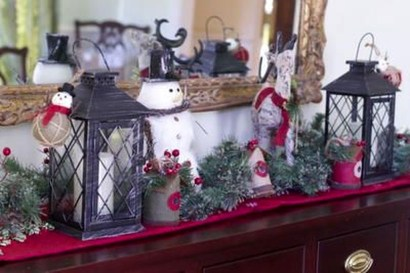 Favorite Mantel Decoration Ideas For Winter 24