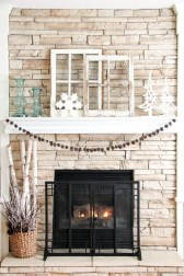 Favorite Mantel Decoration Ideas For Winter 31