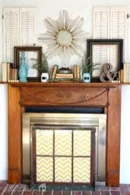 Favorite Mantel Decoration Ideas For Winter 38