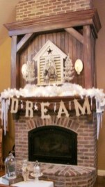 Favorite Mantel Decoration Ideas For Winter 59