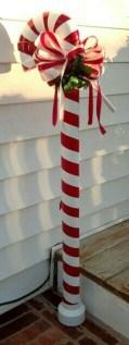 Fun Candy Cane Christmas Decoration Ideas 16