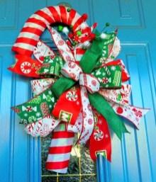 Fun Candy Cane Christmas Decoration Ideas 32