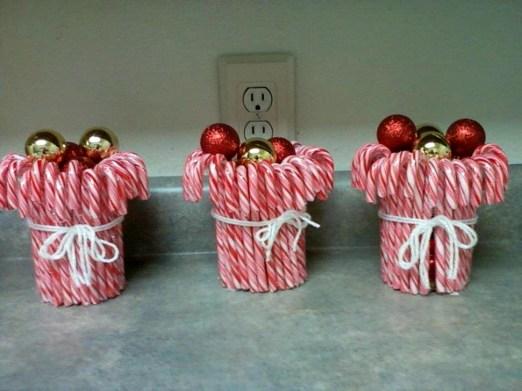 Fun Candy Cane Christmas Decoration Ideas 50
