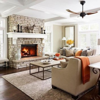 Gorgeous Fireplace Design Ideas For This Winter 08