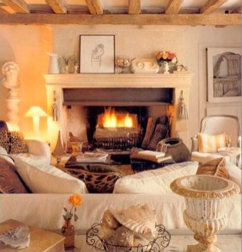Gorgeous Fireplace Design Ideas For This Winter 37