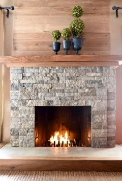Gorgeous Fireplace Design Ideas For This Winter 38
