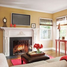 Gorgeous Fireplace Design Ideas For This Winter 42