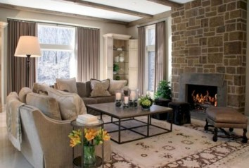 Gorgeous Fireplace Design Ideas For This Winter 46