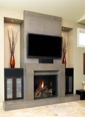 Gorgeous Fireplace Design Ideas For This Winter 47