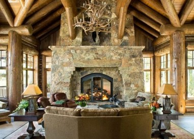 Gorgeous Fireplace Design Ideas For This Winter 52