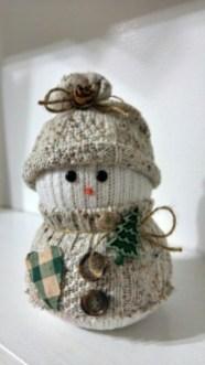 Interesting Snowman Winter Decoration Ideas 04