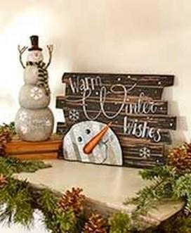Interesting Snowman Winter Decoration Ideas 05
