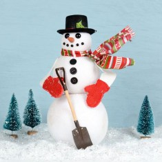 Interesting Snowman Winter Decoration Ideas 18