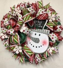 Interesting Snowman Winter Decoration Ideas 20