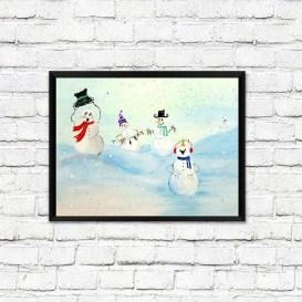 Interesting Snowman Winter Decoration Ideas 27 Copy Copy