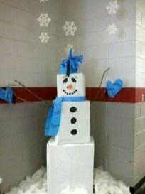 Interesting Snowman Winter Decoration Ideas 28 Copy Copy