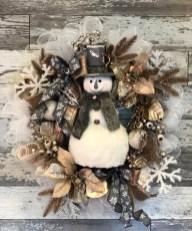 Interesting Snowman Winter Decoration Ideas 37