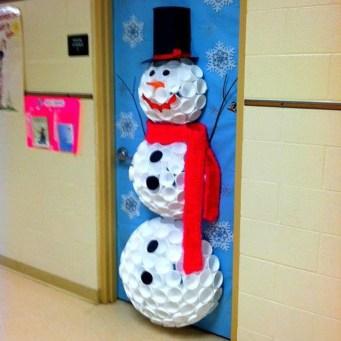 Interesting Snowman Winter Decoration Ideas 43