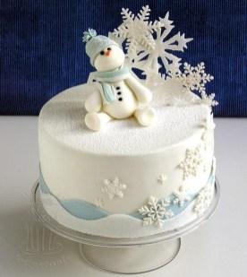 Interesting Snowman Winter Decoration Ideas 45