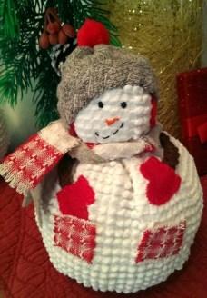 Interesting Snowman Winter Decoration Ideas 49