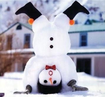 Interesting Snowman Winter Decoration Ideas 52