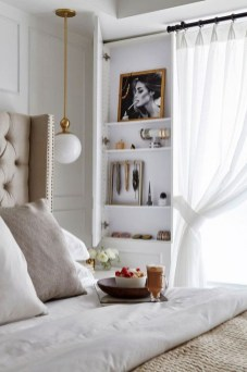 Minimalist But Beautiful White Bedroom Design Ideas 15