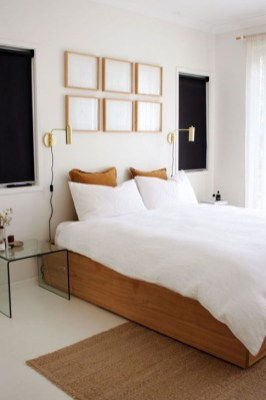 Minimalist But Beautiful White Bedroom Design Ideas 26