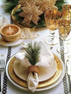 Most Popular Christmas Table Decoration Ideas 57