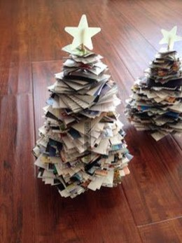Stunning And Unique Recycled Christmas Tree Decoration Ideas 24