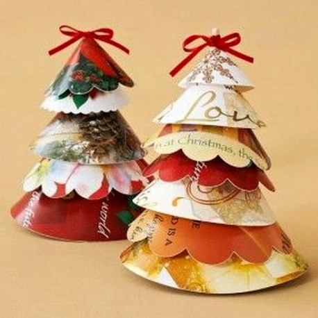 Stunning And Unique Recycled Christmas Tree Decoration Ideas 39