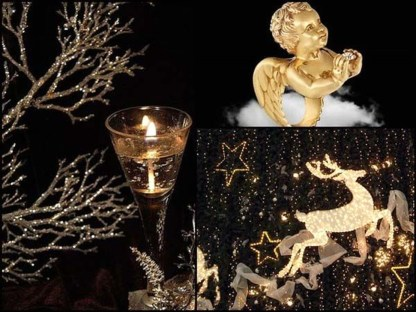 Totally Inspiring Black And Gold Christmas Decoration Ideas10