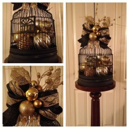 Totally Inspiring Black And Gold Christmas Decoration Ideas25
