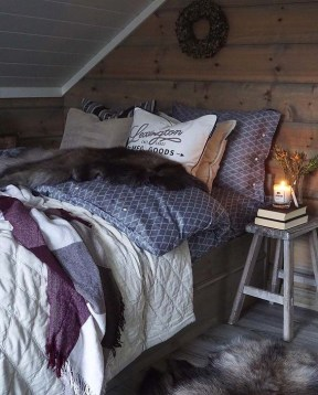 Adorable Bedroom Decoration Ideas For Winter 09