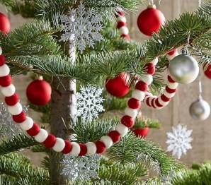 Awesome Red And White Christmas Tree Decoration Ideas 38