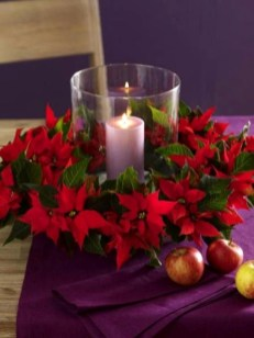 Beautiful Flower Christmas Decoration Ideas 04