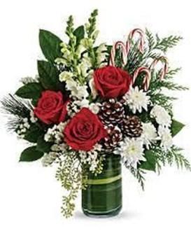 Beautiful Flower Christmas Decoration Ideas 35