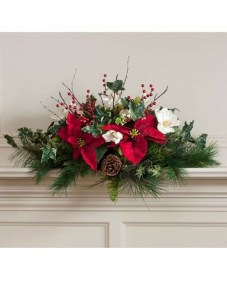Beautiful Flower Christmas Decoration Ideas 36