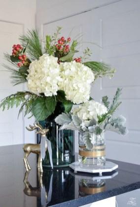 Beautiful Flower Christmas Decoration Ideas 42