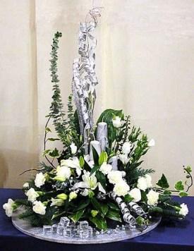 Beautiful Flower Christmas Decoration Ideas 52