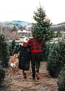 Charming Traditional Christmas Tree Decor Ideas 14
