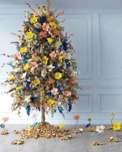 Charming Traditional Christmas Tree Decor Ideas 31