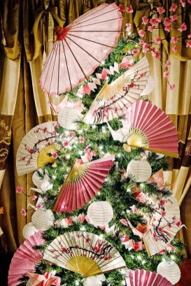 Cute Pink Christmas Tree Decoration Ideas You Will Totally Love 06