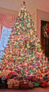 Cute Pink Christmas Tree Decoration Ideas You Will Totally Love 21