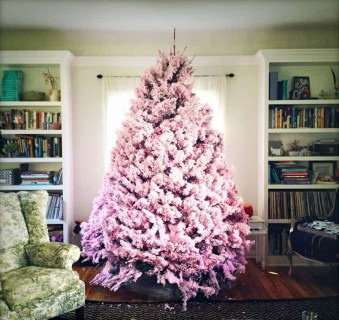 Cute Pink Christmas Tree Decoration Ideas You Will Totally Love 23