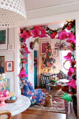 Cute Pink Christmas Tree Decoration Ideas You Will Totally Love 45