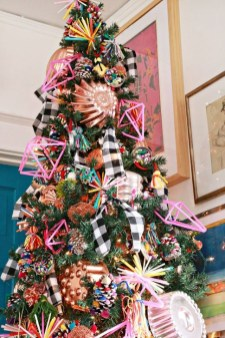 Cute Pink Christmas Tree Decoration Ideas You Will Totally Love 49
