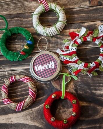 Easy DIY Christmas Ornaments Decoration Ideas 08
